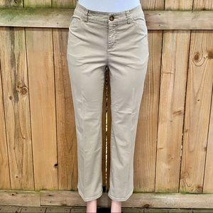 Croft & Barrow Classic Fit Straight Leg Khakis